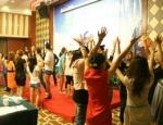 2012年6月3日深圳市丽蒂雅化妆品公司销售与心态培训会照片