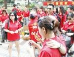 深圳市丽蒂雅化妆品公司团队西涌海滩游玩